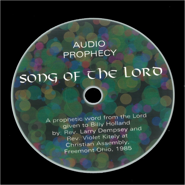 CD with black border